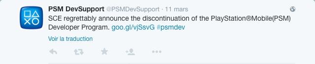 PSM tweet