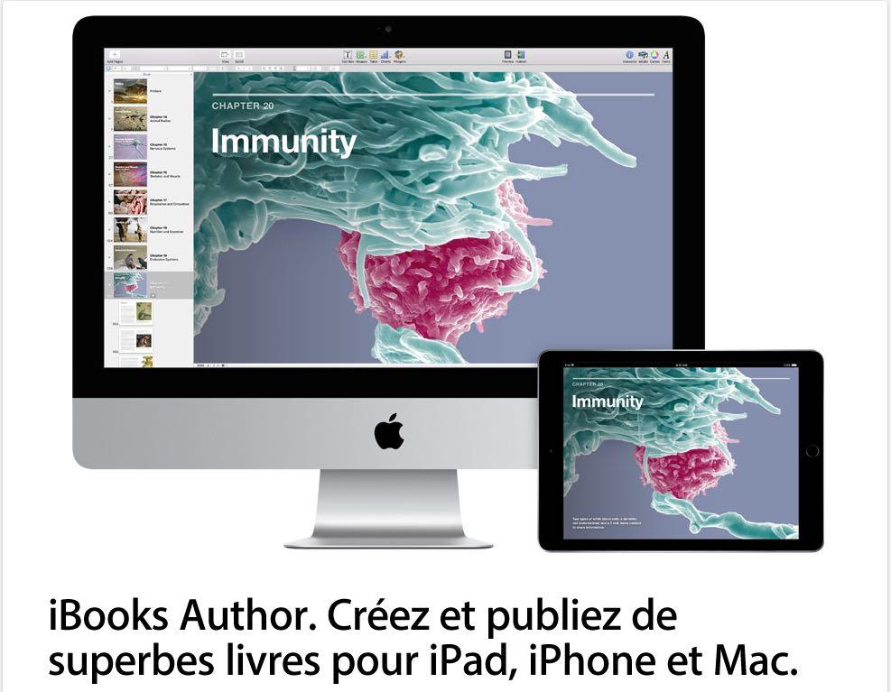 présentation d'iBooks Author