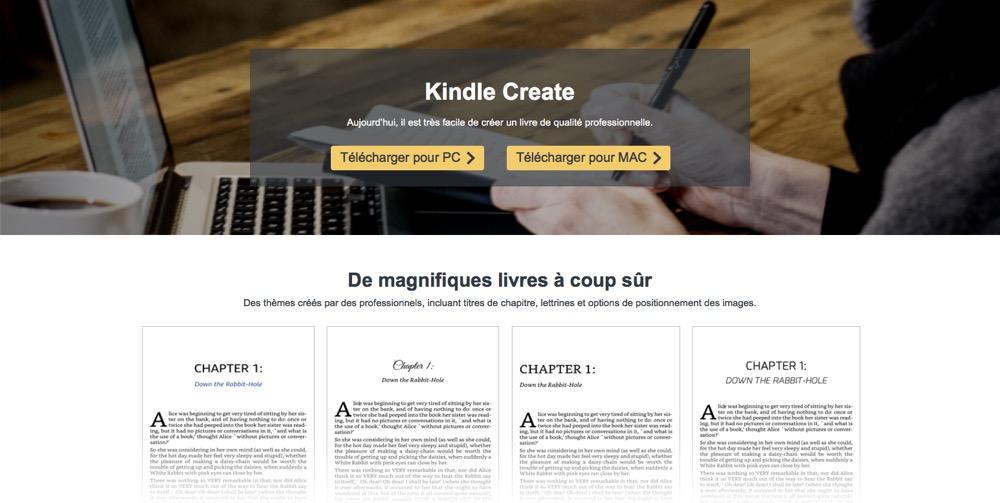 amazon kindle create